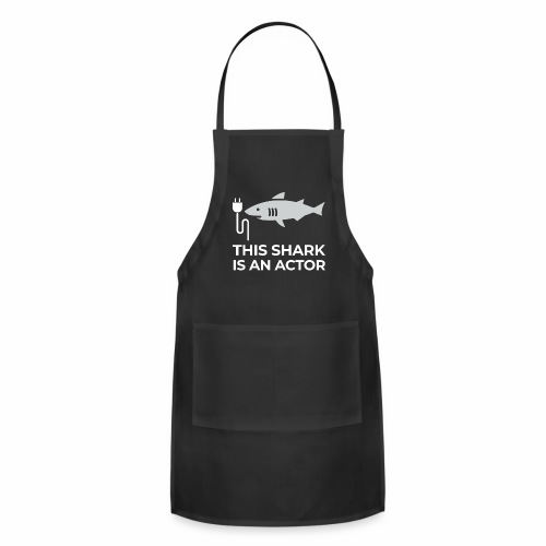This shark is an actor - Adjustable Apron