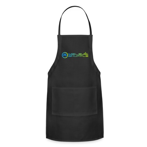 Melbshuffle Gradient Logo - Adjustable Apron