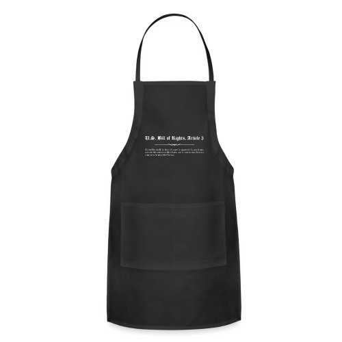 U.S. Bill of Rights - Article 3 - Adjustable Apron