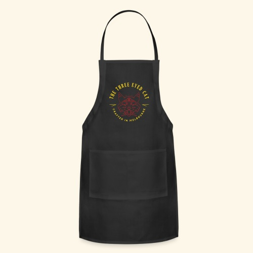 Look what the cat dragged in. - Adjustable Apron