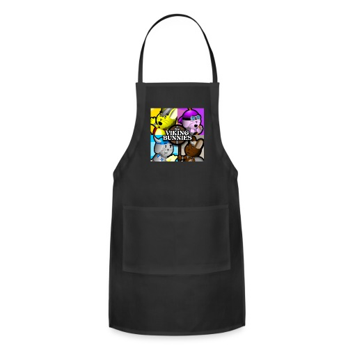 The Viking Bunnies Pop Art - Adjustable Apron