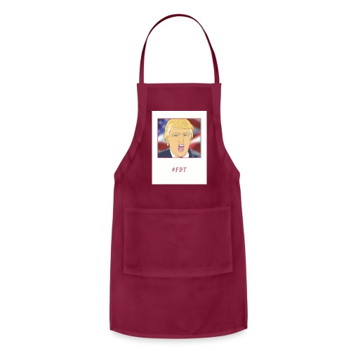 Fuck Donald Trump! - Adjustable Apron