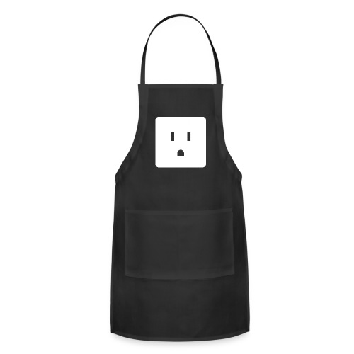 Funny Halloween Couples Costume Wall Outlet Female - Adjustable Apron