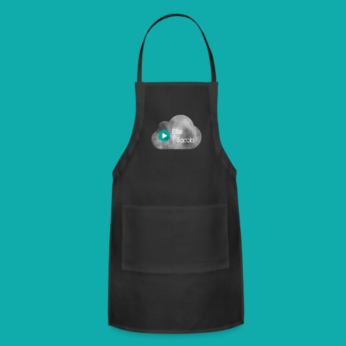 Ellie n Jacob logo - Adjustable Apron