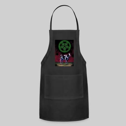 Satanic Cow - Adjustable Apron