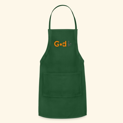 GOD IS #6 - Adjustable Apron
