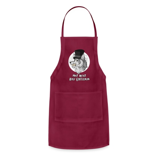 Half-Wolf Half-Gentleman - Adjustable Apron