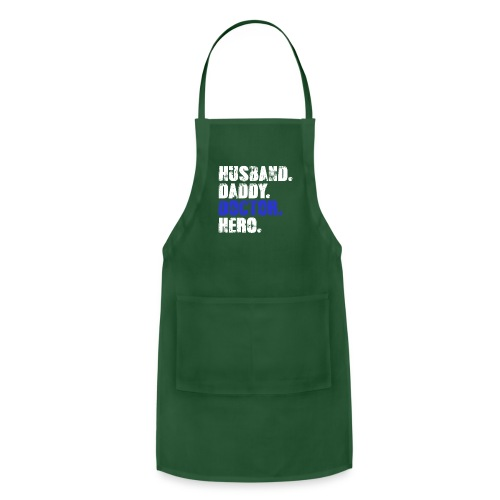 Husband Daddy Doctor Hero, Funny Fathers Day Gift - Adjustable Apron