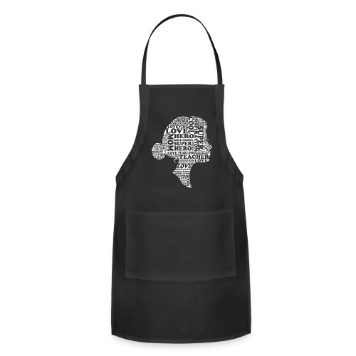 Mother Definition, Teacher Mom, Great Teacher Mom - Adjustable Apron