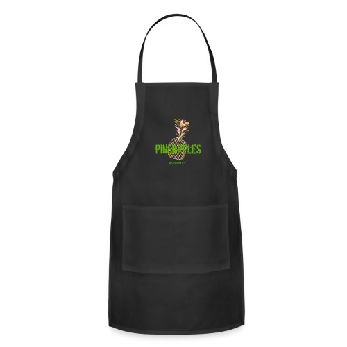 pineapples - Adjustable Apron