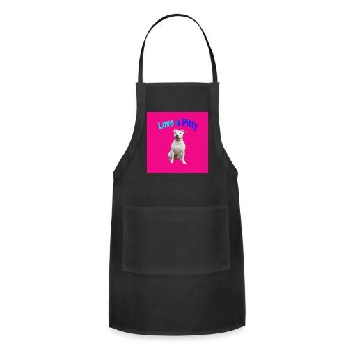 Pink Pit Bull - Adjustable Apron