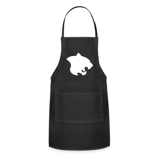 Small White Tricksters - Adjustable Apron