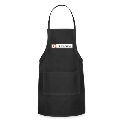 YOUTUBE SUBSCRIBE - Adjustable Apron