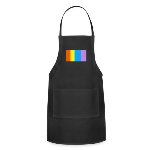 Modern Rainbow - Adjustable Apron