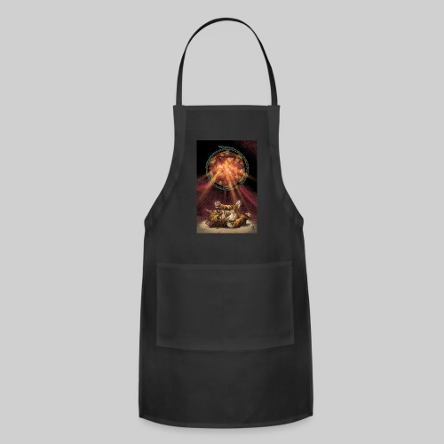 Playful Satanic Kitten - Adjustable Apron