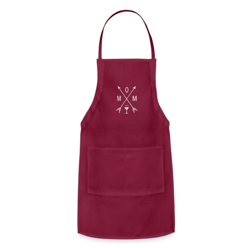 Mom Wine Time - Adjustable Apron