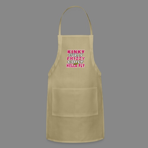 Kinky Curly Frizzy - Adjustable Apron