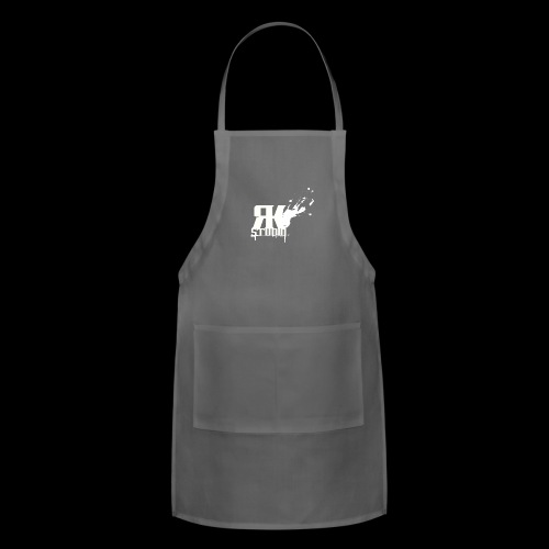 RKStudio White Logo Version - Adjustable Apron