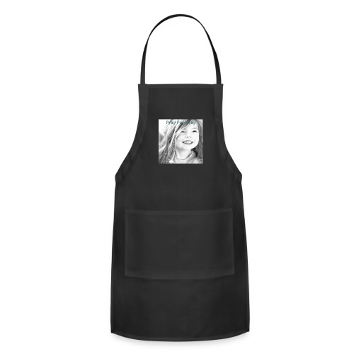 Pray For Gray Collection - Adjustable Apron