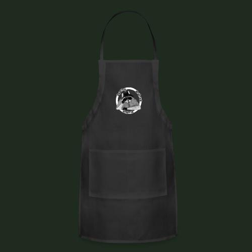Apathy Raccoon - Adjustable Apron