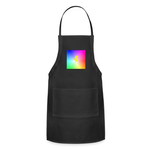 Rainbow lightning t-shirt - Adjustable Apron