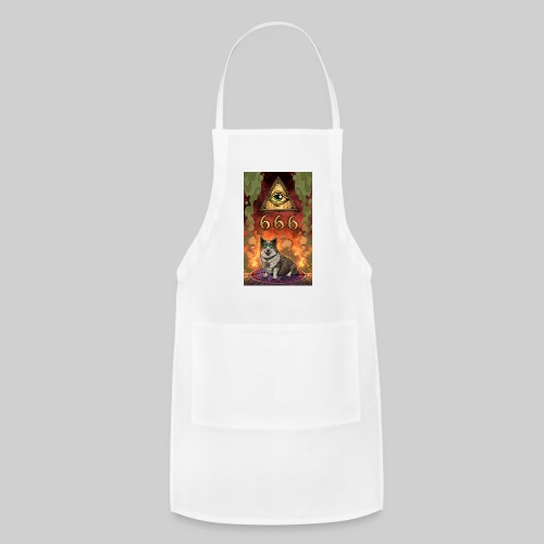 Satanic Corgi - Adjustable Apron