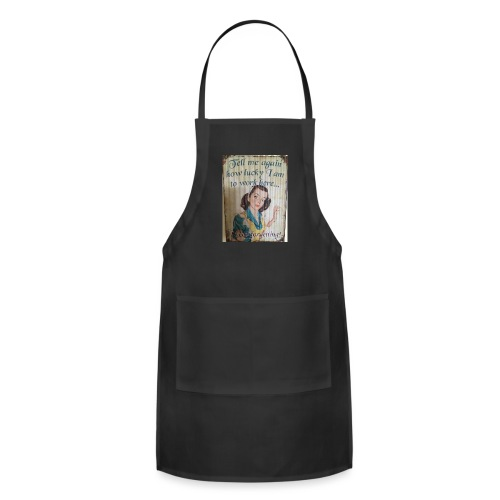 Vintage feminist - Adjustable Apron