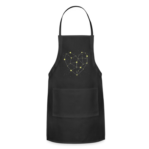 Heart in the Stars - Adjustable Apron