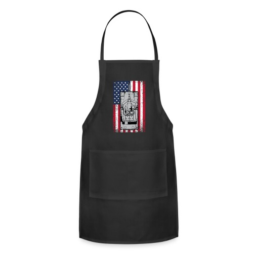 4th of July - Adjustable Apron