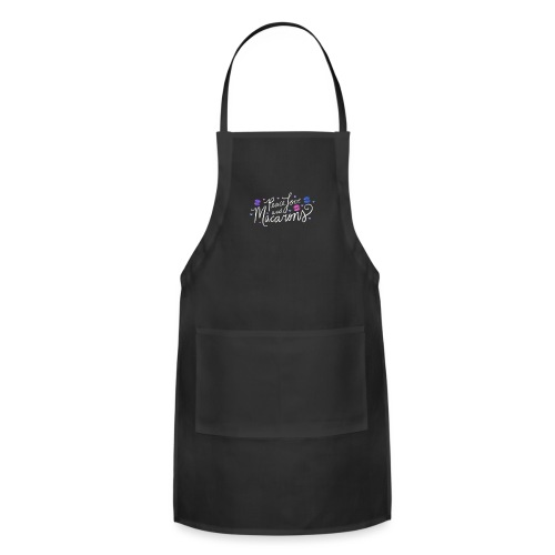 Peace Love and Macarons - Adjustable Apron