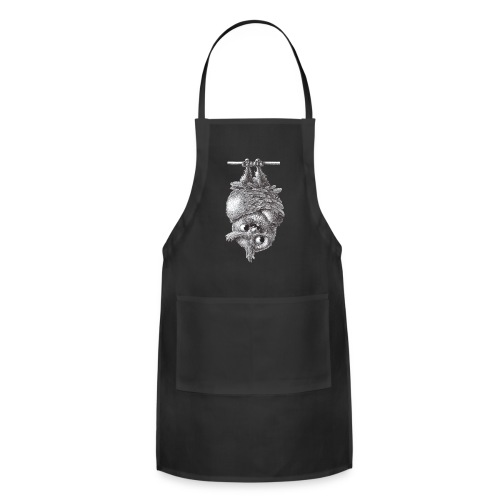 Vampire - Dracula Owl - Adjustable Apron