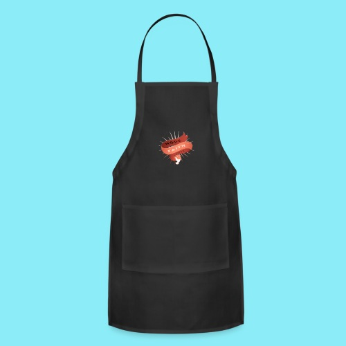 HOPE FAITH AND LOVE ribbon floating in the air - Adjustable Apron