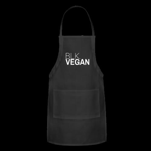 Blk. Vegan - Adjustable Apron