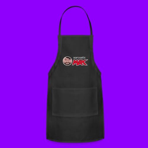 SarcasticMax cola beverage logo - Adjustable Apron