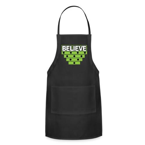 Believe Logo green - Adjustable Apron