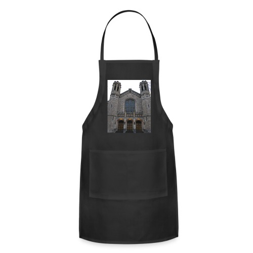 Gothic church frontage - Adjustable Apron