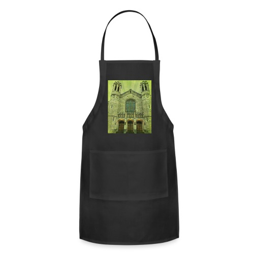 Green gothic cathedral - Adjustable Apron