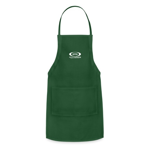 SMS White Logo - Adjustable Apron
