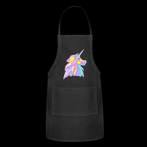 Pixellent Unicorn - Adjustable Apron