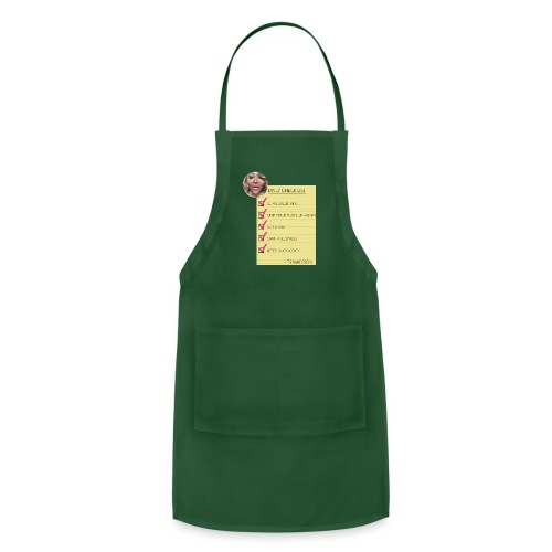 ts Madison Checklist - Adjustable Apron