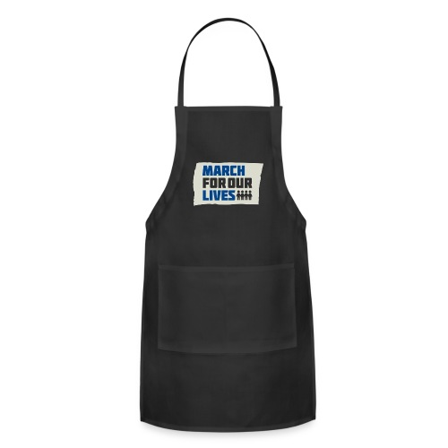 March For Our Lives 2018 T Shirts - Adjustable Apron