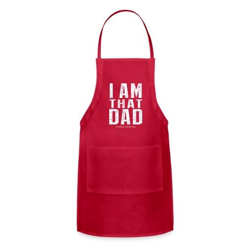 I Am THAT DAD | White Type - Adjustable Apron