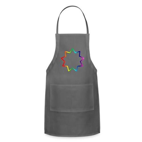 Baha´i rainbow - Adjustable Apron