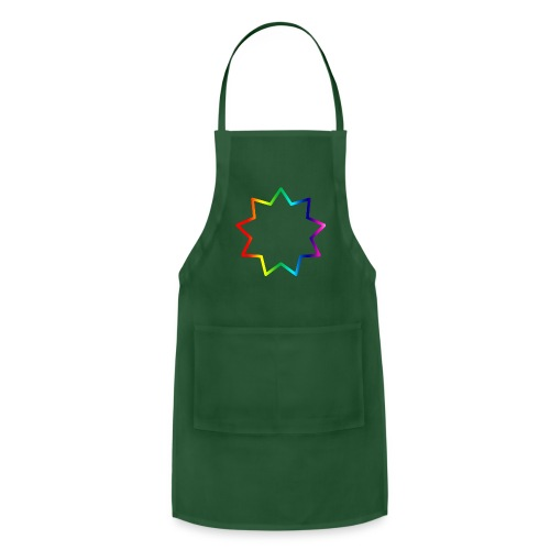 Baha´i rainbow - Adjustable Apron