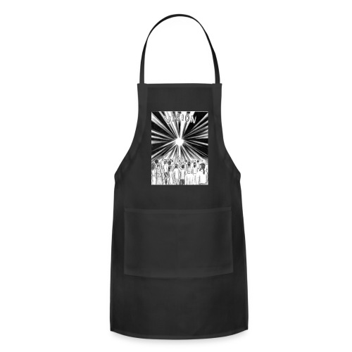 Black_and_White_Vision - Adjustable Apron