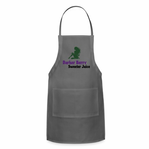 Darker Berry Sexy V - Adjustable Apron