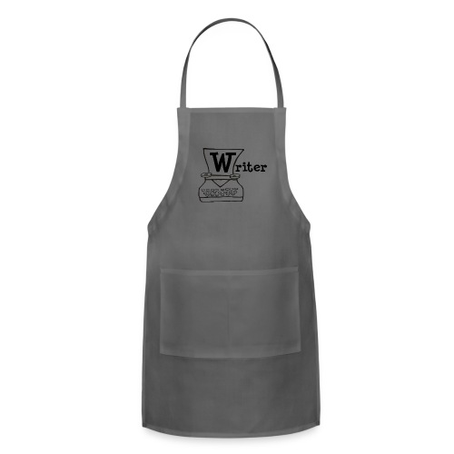 Writer Logo Black - Adjustable Apron
