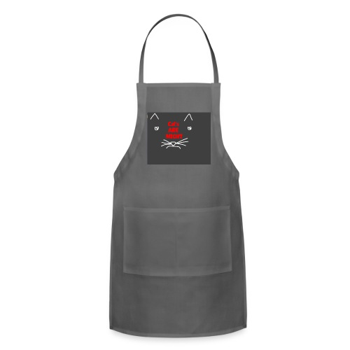 Cat's Are Might - Adjustable Apron