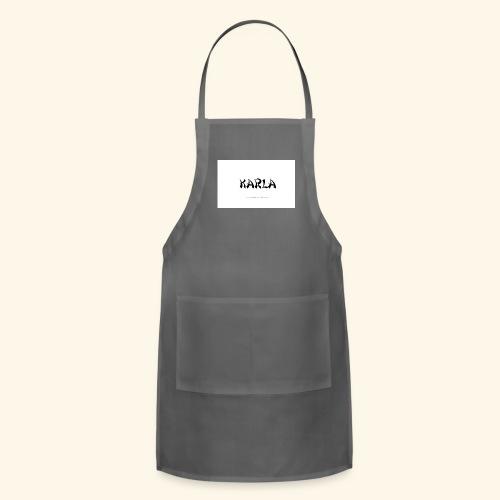 tattoo design name karla - Adjustable Apron