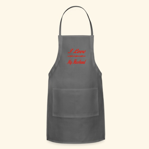I Love My Husband - Adjustable Apron
